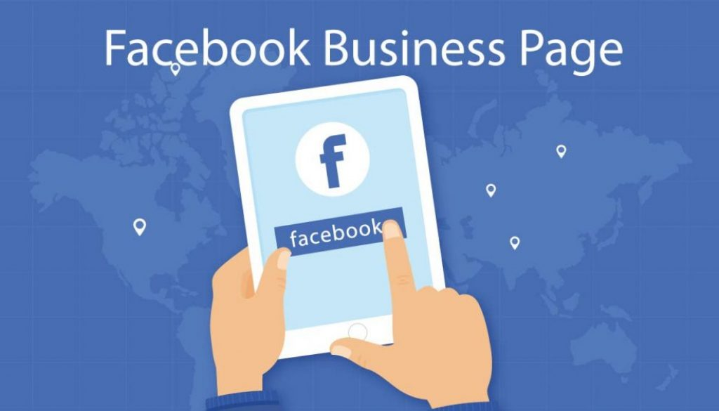 open Facebook business page